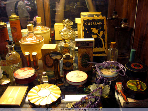 Chinese cosmetics used in the past