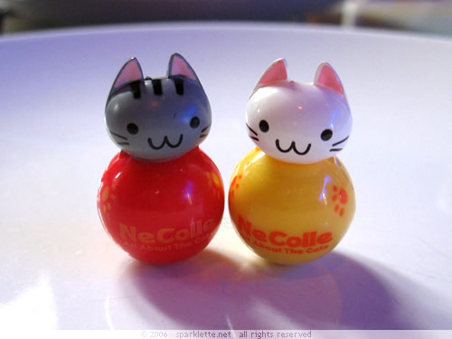 Kitty capsule toys