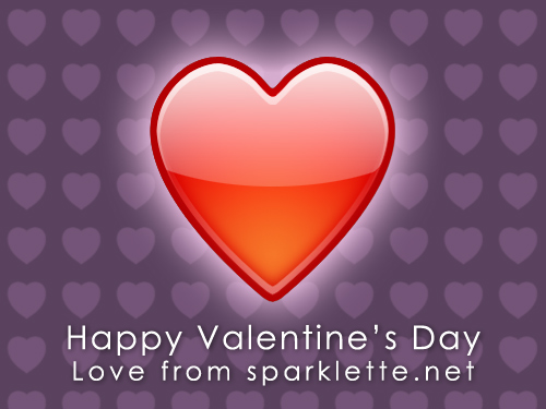 Happy Valentine's Day 2007 from Sparklette