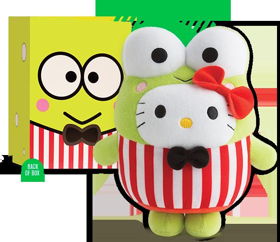 McDonald's Hello Kitty Bubbly World Collector's set - Kerokerokeroppi