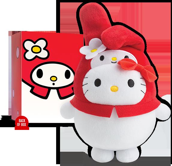 McDonald's Hello Kitty Bubbly World Collector's set - My Melody