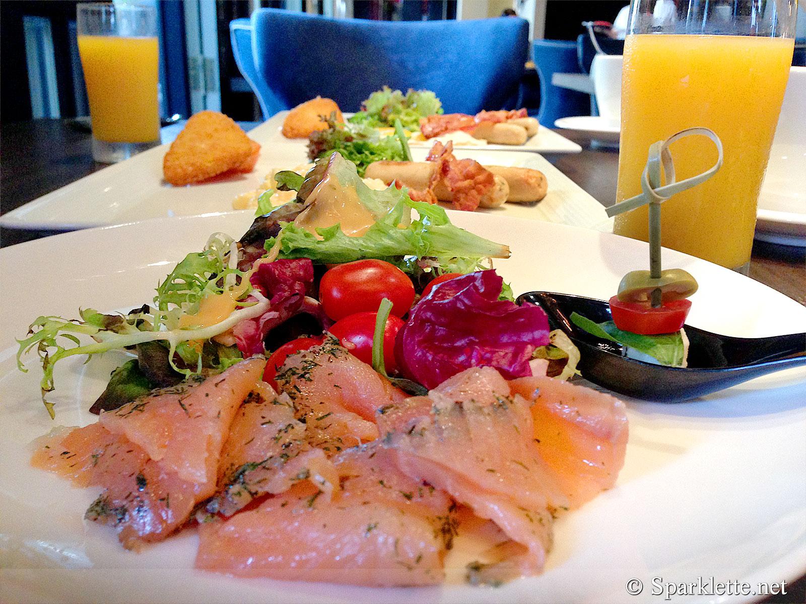 The Scarlet Hotel Breakfast
