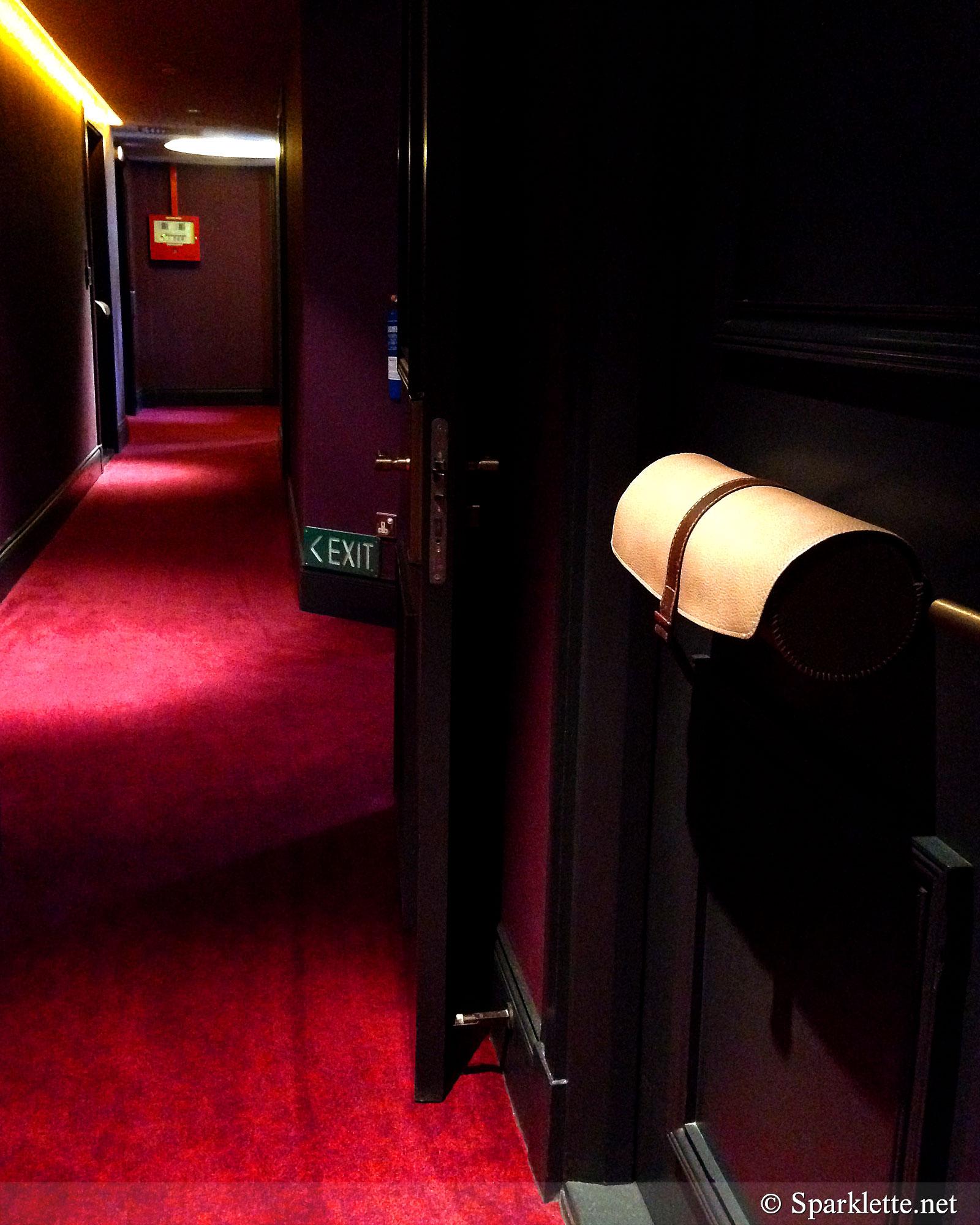 The Scarlet Hotel Corridor