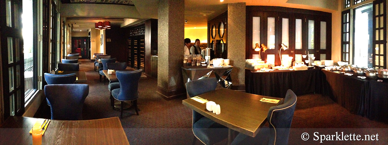 The Scarlet Hotel Splendour Suite Restaurant
