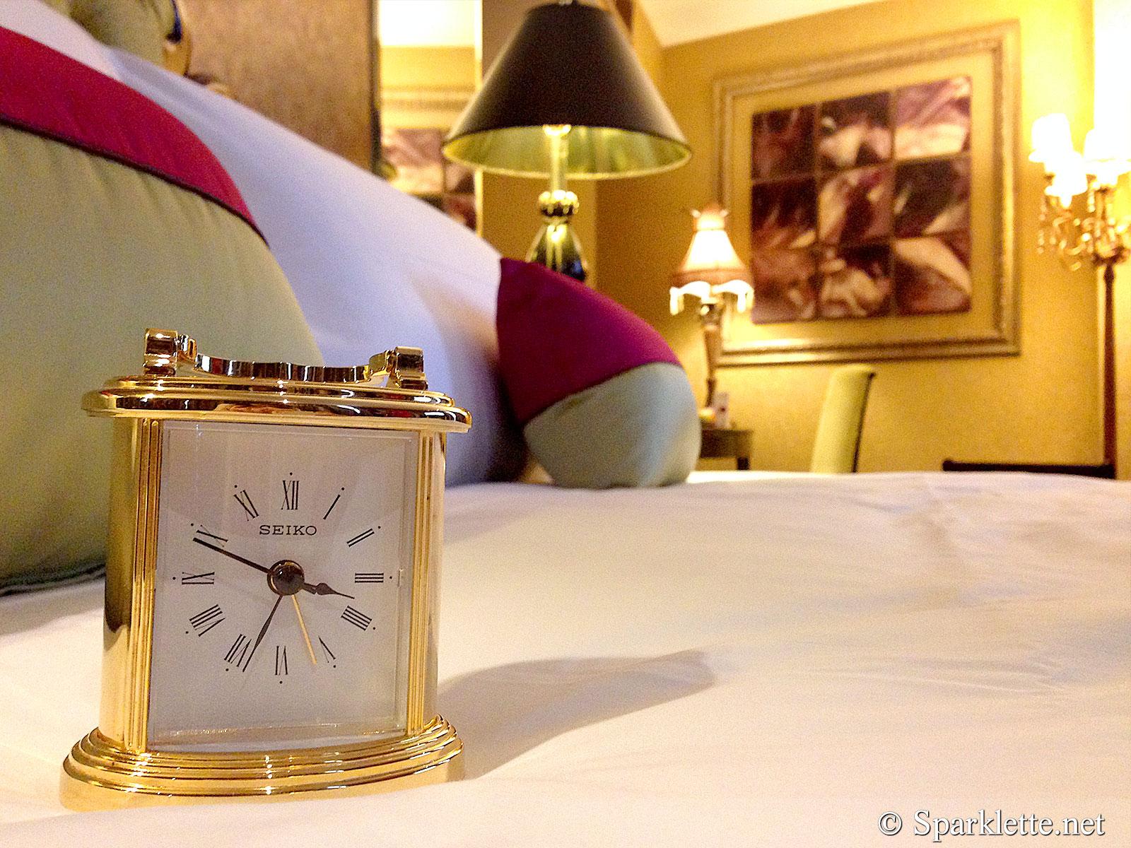 The Scarlet Hotel Splendour Suite Clock